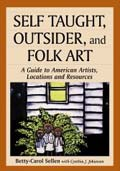 Self Taught, Outsider, and Folk Art, book cover