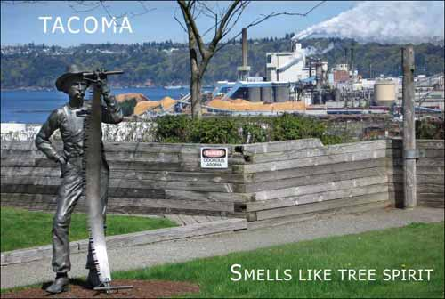 Tacoma Postcard, by John Carlton - PULP MILL