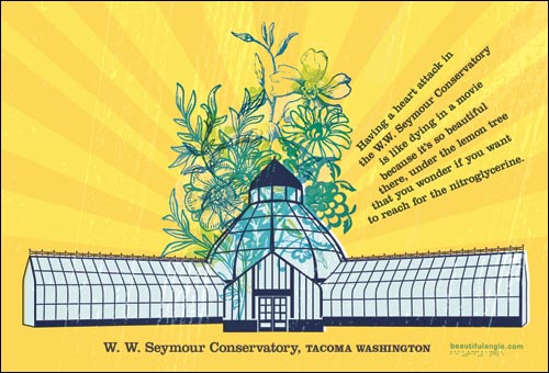 Tacoma Postcard, by Beautiful Angle - SEYMOUR CONSERVATORY