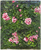 Artwork by Julian Schnabel on exhibition at The Pace Gallery in New York, February 24 - March 25, 2017
