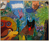 Roy De Forest Of Dogs and Other People, Oakland Museum of California, Oakland, CA, April 29 - August 29, 2017