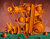 Invented Worlds of Valton Tyler on exhibition at Amon Carter Museum in Fort Worth, TX, February 11 - April 30, 2017