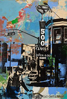 Artwork by Deanna Fainelli, 500 Club, available from Zatista.com