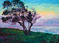 Painting by Erin Hanson studio in San Diego, CA