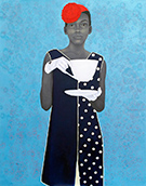 Artwork by Amy Sherald in American Portraiture Today on exhibition at Tacoma Art Museum, February 4 - May 14, 2017