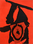 Artwork by Robert Motherwell available from Leslie Sacks Gallery in Santa Monica, CA