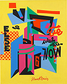 Stuart Davis exhibition at National Gallery of Art in Washington, DC, November 20 - Mar 5, 2017