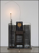 Artwork by Edward & Nancy Reddin Kienholz on display at LA Louver in Venice, CA, March 13 - April 26, 2014
