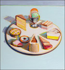 Artwork by Wayne Thiebaud featured exhibition at Laguna Art Museum, February 23 - June 1, 2014