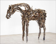 Horse sculpture by Deborah Butterfield available from Zolla / Lieberman Gallery in Chicago