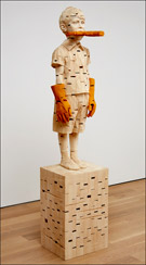 Artwork by Gehard Demetz on exhibition at Jack Shainman Gallery in New York, May 1 - May 31, 2014