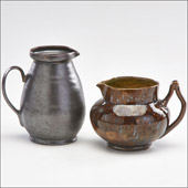 Rago Auction House in New Jersey, pottery by George Ohr