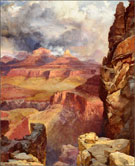 Painting by Thomas Moran available from Zaplin Lampert Gallery in Santa Fe, NM