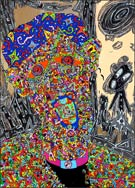 Artwork by Jean-Marc Calvet in group exhibit at Frederick Holmes and Company Gallery in Seattle