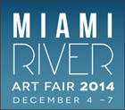Miami River Art Fair logo, December 2014