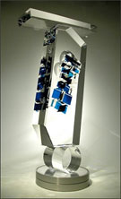 Glass by Toland Sand on exhibition at The Bender Gallery Asheville, NC, April 4 - May 31, 2014