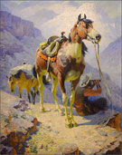 Painting by William R. Liegh available from Zaplin Lampert Gallery in Santa Fe, NM