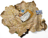 Artwork by El Anatsui exhibition at Jack Shainman Gallery in New York, October 18 - Nov 15, 2014