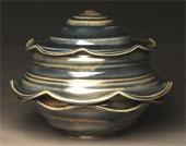 Ceramics by Josh Novak availalble from Strecker-Nelson Gallery in Manhattan, KS