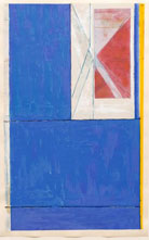 Print by Richard Diebenkorn, Blue, 1984, Leslie Sacks Fine Contemporary in Santa Monica, CA