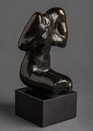 Scuplture by Auguste Rodin available from Leslie Sacks Gallery in Santa Monica, CA