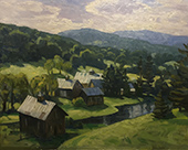 Artwork by Ken Knowles available at Gallery on the Green in Woodstock, Vermont