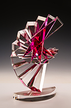 Artwork by Michael E. Taylor exhibition at Museum of Glass, October 28 - May 12,2018, Tacoma, WA