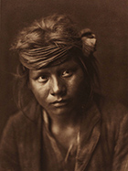 Photographs by Edward S. Curtis available at Broschofsky Galleries, in Ketchum, Idaho, 021618