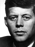 American Visionary: John F. Kennedy's Life and Times on exhibition at Bowers Museum in Santa Ana, CA, March 10 - June 3, 2018