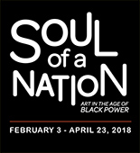 Soul of a Nation on exhibition at Crystal Bridges Museum of American Art in Bentonville, AR, February 3 - Apr 23, 2018