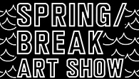 Spring Break Art Show logo, located in NYC
