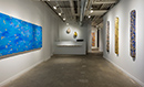 Interior view of Lesley Heller Gallery located in the Lower East Side of New York City, 032418-092418