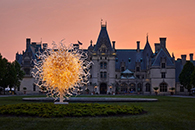 Artwork by Dale Chihuly at Biltmore House and Gardens in Asheville, NC, May 17 - October 7, 2018, 052618