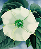 The Beyond: Georgia O'Keeffe and Contemporary Art on exhibit at Crystal Bridges Museum of American Art in Bentonville, AR, May 26 - September 3, 2018