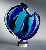 Art Glass by Joseph Pagano available at Gallery of Modern Masters in Sedona, AZ, 061518