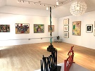picture of the interior of Noted Gallery located in Southampton, NY