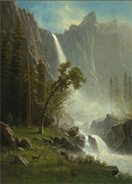 Artwork by Albert Bierstadt on exhibition at Princeton University Art Museum, Oct 13 - January 6, 2019, 092618