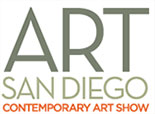 Art San Diego 2019 logo, runs October 17 - 20, 2019, in San Diego, CA, 090518