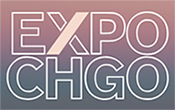 Expo Chicago 2019 logo, runs September 27 - 30, 2019, in Chicago, IL, 061919