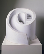 Sculpture by Isamu Noguchi on exhibition at Portland Museum of Art in Portland, ME, October 5 - January 6, 2019, 092618