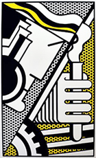Artwork by Roy Lichtenstein available at Long-Sharp Gallery, Indianapolis, IN, 091518