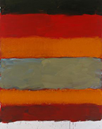 Artwork by Sean Scully on exhibition at the Hirshhorn Museum in Washington, DC, September 13 - February 3, 2019, 092518