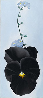 Artwork by Georgia O'Keeffe featured at The Cleveland Museum of Art in Cleveland, OH, Nov 23 - March 3, 2019, 101018