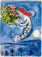 Artwork by Marc Chagall available at Martin Lawrence Galleries in Las Vegas, 060119