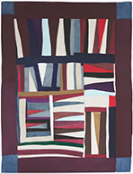 Quilts by Mary Lee Bendolph available at Carl Solway Gallery in Cincinnati, Ohio, 101018