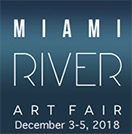 Miami River Art Fair logo for 2018
