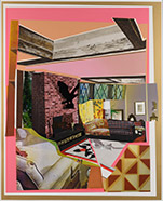 Artwork by Mickalene Thomas available from Leslie Sacks Gallery in Santa Monica, CA, 011019