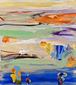 Artwork by Daniel Phil on exhibition at Filsinger Gallery in Palm Desert, CA, Mar 1 - April 10, 2019, 022519