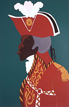 Artwork by Jacob Lawrence: Toussaint L'Ouverture Series: The Haitian Revolution at El Paso Museum of Art, Oct 31 - February 27, 2019