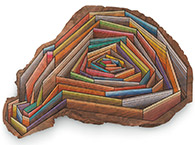 Artwork by Jason Middlebrook on exhibition at Miles McEnery Gallery in New York, March 13 - April 13, 2019, 040519